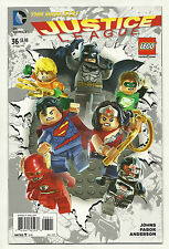 Justice League #36 Lego Variant Near Mint New 52