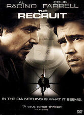 The Recruit (DVD, 2003) Al Pacino Colin Farrell