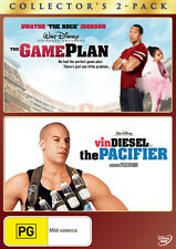 The Game Plan / Pacifier * NEW DVD * (Region 4 Australia)
