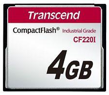 4GB Transcend Industrial Grade CF220i 220X Ultra CF CompactFlash SLC