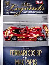 Poster Story LEGENDS - Ferrari 333 SP & Max Papis  [AS3] -107