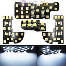 White 62-SMD 3-piece Exact LED Panels Interior Light Package For Honda Civic FIT