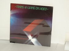 TRANS X Living On Video LP SEALED Trans-X Pascal Languirand Synth Pop Ghost