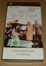 With Six You Get Eggroll vhs new factory sealed Doris Day Brian Keith