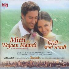 MITTI WAJAAN MAARDI ( PUNJABI) - NEW BOLLYWOOD SOUNDTRACK CD - FREE UK POST