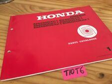 Générateur Honda parts list EM EG 4500 5000 XK1 XSK1 catalogue pièce détachée