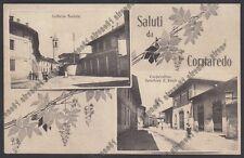 MILANO CORNAREDO 06 S. PIETRO ALL'OLMO - SALUTI - LATTERIA COOPERATIVA viag 1923