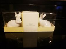 NEW~Williams & Sonoma Easter Bunny Tiny Taper Candle Holder~ Adorable- Free Ship