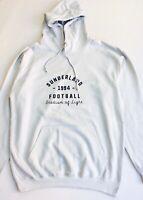 UNISEX JUSTHOODS Sunderland AFC Stadium Vintage Hoodie Top Size LARGE BNWOT