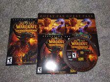 World of Warcraft Cataclysm PC NEW NO RETAIL BOX