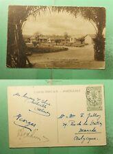 DR WHO BELGIUM CONGO PICTORIAL POSTAL CARD LISALA HOSPITAL TO BELGIUM  g39092