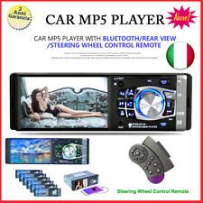 """4.1"""" 1 DIN Android Autoradio Car Stereo Bluetooth FM AUX W/Remote USB MP5 Player"""