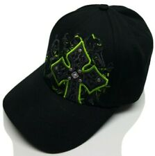 MMA Elite Mixed Martial Arts Baseball Cap Hat One Size Cross Rivets Studs
