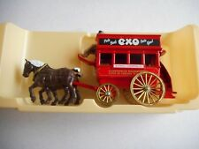 "Lledo Days Gone 4014 Horse Drawn Bus ""OXO Beef Stock"" + box"