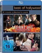 Blu-ray * Resident Evil: Degeneration + Resident Evil: Damnation NEU OVP 2 Filme