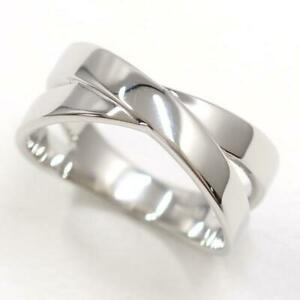 Jewelry Platinum PT900 Ring 12.5Japan size Free shipping Used