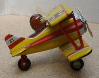 ZZ Tin Toys Germany Bi-plane