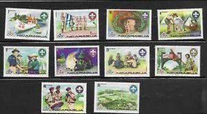 NICARAGUA 1975  BOYS Scout MNH** (S114)
