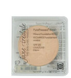 Jane Iredale PurePressed Base Mineral Foundation SPF20 Refill - Radiant -NEW