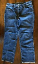 CHRISTOPHER & BANKS Womens Size 10 Short Classic Fit Jeans High Waist Blue Denim