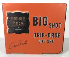 Double Dram Big Shot Drip Drop 3-glass Drinkware Gift
