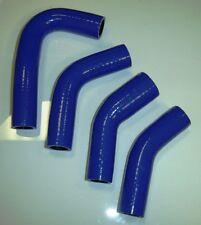 Yamaha RZ350 Silicone Radiator Hose Set - BLUE - No Logos - FREE SHIPPING