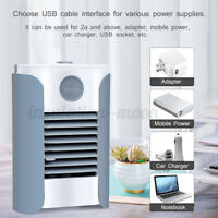 bluetooth Portable Mini AC Air Conditioner Cooler Fan Humidifier Purifier  * ┆