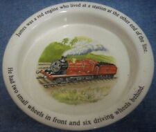 "Wedgwood Thomas the Tank Engine & Friends Baby Dish Made in England 6 1/2"" Dia"