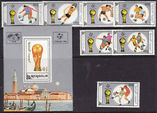 MONGOLIA-1990- Italy- FOOTBALL World Cup-Set+S/S, MNH