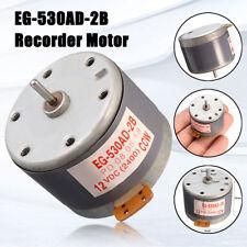 For MABUCHI EG-530AD-2B DC 12V CCW Recorder Audio Motor Tape Deck Capstan Motor