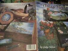 Village Views Painting Book #2- Neilsen- Seasonal Sceneries/Snowmen/Lighthouse O