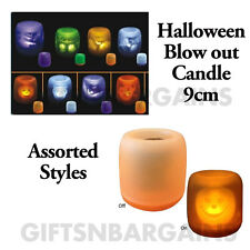 Halloween Lights Blow-Out Candle Party Table Decor Halloween Props Electronic