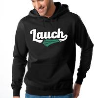 LAUCH Sport Gym Fitness Vegan Veggie Spruch Spaß Kapuzenpullover Hoodie Sweater