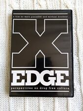 X EDGE- PERSPECTIVE ON A DRUG FREE CULTUR, DVD, R-ALL, LIKE NEW, FREE POST
