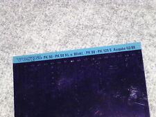 Microfich Ersatzteilliste Piaggio Vespa PK 50 80 125 S Lusso V5X2T V8X5T V5X1T