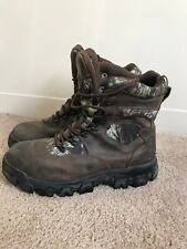 Men's Wolverine Hawthorne Hunting Waterproof Insulated Boots Camo 12 $125+ A+
