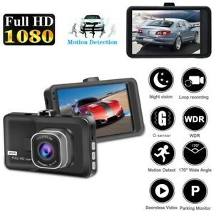 1080P Dash Camera Pickup Dash Kamera DVR Recorder 3.0 INCH 170 Degrees F3