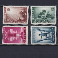 GERMANY 1942, German Occup., Serbia, Mi#58I-61I, CV €210, with C or CT, MNH