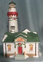 Lemax Dickensvale Village New England Lighthouse Lighted House ~ MINT in Box!