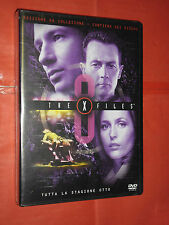 DVD FILM X FILES edizione da collezione STAGIONE OTTO contiene sei dischi
