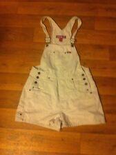 Zana Di Jrs Medium Khaki Cotton -No Stretch- Bib Carpenters Shortalls