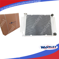 3 Row Race Alloy Radiator for Mazda RX2 RX3 RX4 RX5 RX7 without Heater Pipe MT