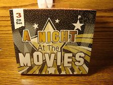 A NIGHT at the MOVIES #3 CDs of Movie Themes 45 songs * Enlarge Photos for List