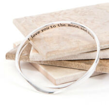 Message bangle, Hidden Moon & Back Imperfect Item-Small Bubble on Bangle