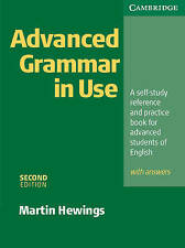 Advanced Grammar in Use with Answers by Hewings, Martin