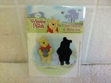 Disney Winnie The Pooh Clear Stamp & Metal Die