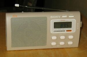 Sony liv ICF-M410V AM/FM/Weather Clock Radio
