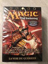 NEUF NEW carte deck à thème magic the gathering MTG kamigawa la voie du guerrier