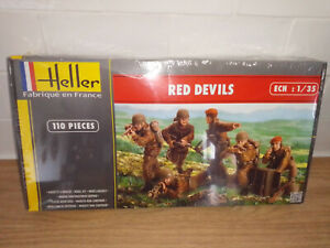 2001211 Maquette kit Neuf Heller figurines red devils 1/35