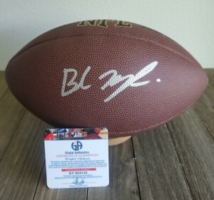Baker Mayfield Autographed Signed Football NFL COA Cleveland Browns auto'd